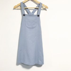 Vintage. Overall dress jumper. Soft and cozy.